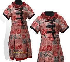 Baju batik modifikasi kancing cina   ANeka Kraesi Batik